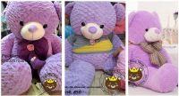 Gấu bông Teddy màu tím xinh xinh (1m4)