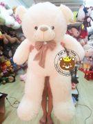 Gấu teddy lông tơ nơ nhung (1m4)