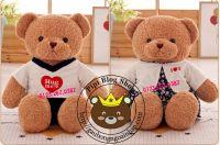 Gấu bông Teddy Baby Limited áo quần, váy đầm (80cm, 1m2)