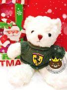 Gấu bông teddy áo len Porsche (35cm)