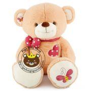 Gấu bông teddy ngực tim (80cm)