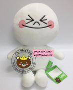 Gấu bông Line - Gấu Moon Hàn quốc lông dày (40cm, 60cm)