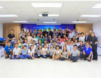 Lãnh đạo cấp cao và cấp trung của công ty Phúc Trường Hải tham gia khóa huấn luyện Leader Mindset