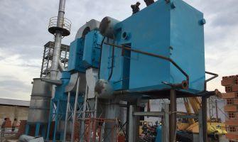 Lò hơi tầng sôi đốt đa nhiên liệu 4 tấn/h cho nhà máy thức ăn gia súc