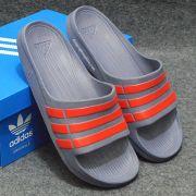 Dép Adidas Duramo chính hãng xám đỏ