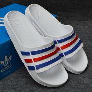Dép Adidas Duramo chính hãng trắng xanh đỏ