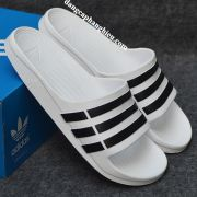 Dép Adidas Duramo chính hãng trắng đen