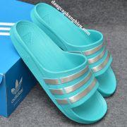Dép Adidas Duramo chính hãng xanh ngọc bạc
