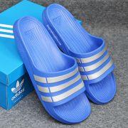 Dép Adidas Duramo xanh dương bạc