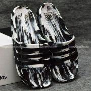 Dép Adidas Duramo Camo chính hãng trắng đen