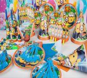 Bộ 16 món trang trí sinh nhật Minion