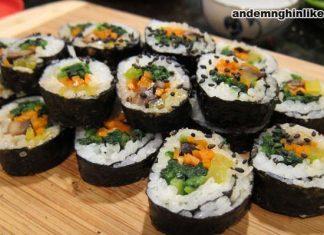 Kimbap thường