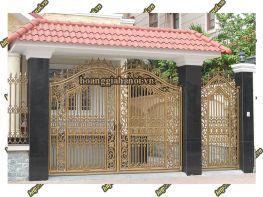 Cổng Nhôm Đúc HGNC 80