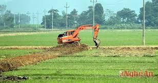 Chuyển mục đích sử dụng đất nông nghiệp.