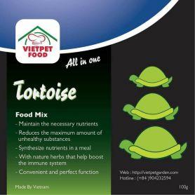Tortoise Mix - thức ăn dinh dưỡng cho rùa cạn TFM001
