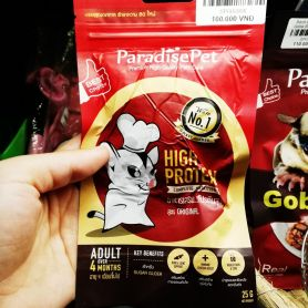 Sữa dinh dưỡng High Protein cho Sóc Bay Úc