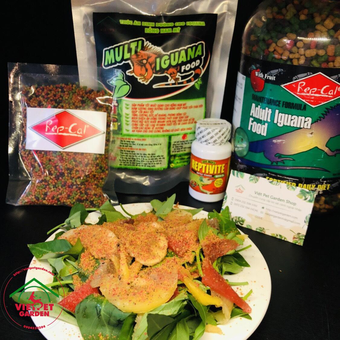 Multi iguana food mix frui