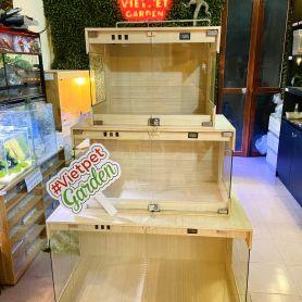 Bể gỗ chuyên dụng cho bò sát cảnh nguyên liệu nhập Đức