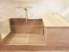 Bễ gỗ chuyên dụng dành cho rùa cạn
