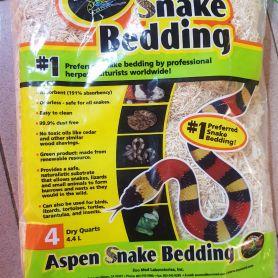 Aspenbedding Zoomed - Lót nền cho trăn rắn