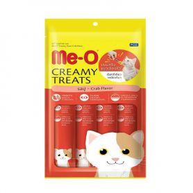Bánh thưởng dạng kem cho mèo vị Cua - Creamy Streats - Crab Flavor - MeO