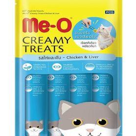 Bánh thưởng dạng kem cho mèo vị Gà Gan - Creamy Streats - Chicken and Liver - MeO