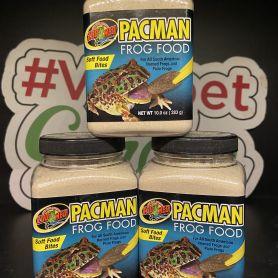 Thức ăn dinh dưỡng cho ếch pacman - Zoomed