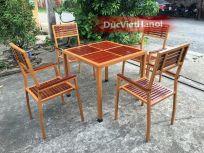 Bàn ghế cafe 762
