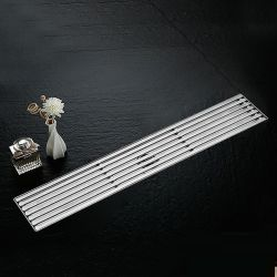 Phễu Thoát Sàn Chống Mùi Inox304 NX550-60 (100x600mm)