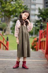 Sét Váy Yếm Tăng Giảm Xanh Rêu NX0139-1
