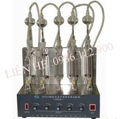 Thiết bị xác định lưu huỳnh trong xăng dầu bằng phương pháp đốt Changji SYD380B