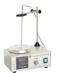 Máy khuấy từ gia nhiệt loại hiện số hiển thị tốc độ và nhiệt độ