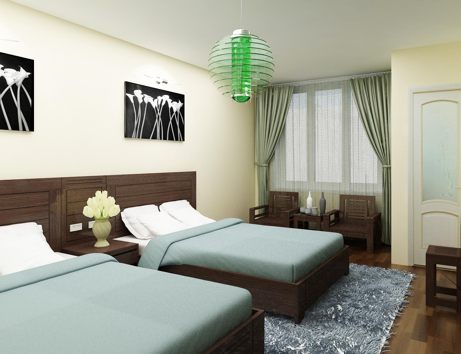 Giường khách sạn 3