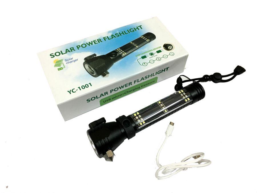 Đèn pin 10 chức năng siêu sáng