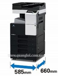 BIZHUB 367 + Chân Khay PC109 (500 Trang)