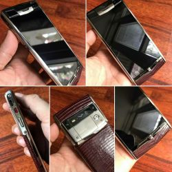 Vertu Signature Touch Grape Lizard