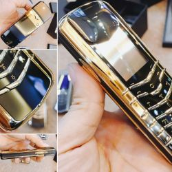 Vertu Signature M Gold Edition