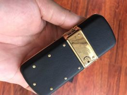Vertu Constellation Black Ceramic Keys Gold