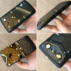 Vertu Constellation Quest Black Carbon Fiber