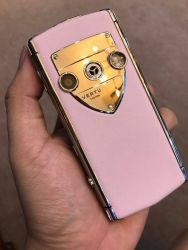 Vertu Constellation Touch Pink Leather