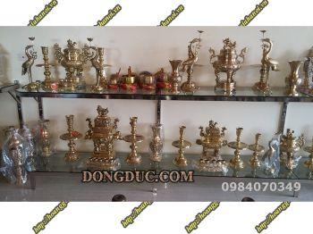 Cách chọn đồ thờ cúng bằng đồng phù hợp với không gian thờ và vài trò của gia chủ