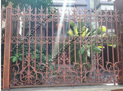 Hàng rào đồng đúc Hoàng Gia Hà Nội HGHR002