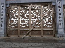 Mẫu cổng nhà biệt thự sang trọng đẹp hiện đại ở Hà Nội