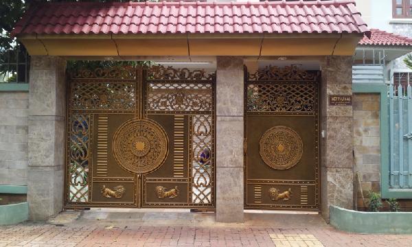 Các phong cách thiết kế cổng biệt thự