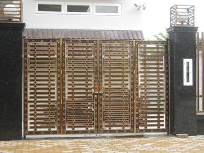 Cổng biệt thự thiết kế theo phong cách hiện đại ngày nay