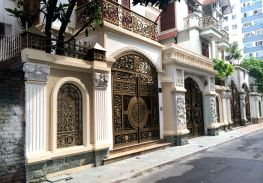 Mẫu cổng biệt thự đẹp và tinh tế