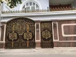 Mẫu thiết ké cổng sắt cho biệt thự đẹp nhất