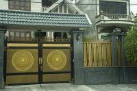 Mẫu thiết kế cổng biệt thự 5 tầng hiện đại đẹp nhất