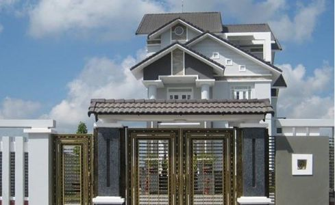 Mẫu cổng nhà biệt thự đẹp ở họa tiết, đẹp ở ý nghĩa