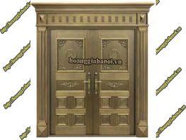 Cửa đồng vàng, cửa đồng đỏ khác nhau như thế nào?